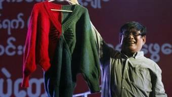 43'500 Franken für einen handgestrickten Pullover - beziehungsweise für einen guten Zweck (Archiv)