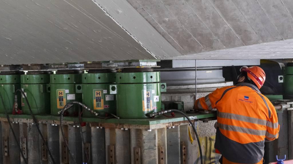 Brücke im Wallis wird erdbebensicherer gemacht