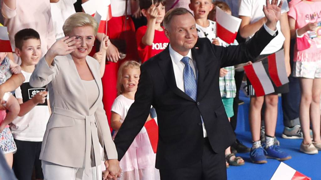 Neue Prognose nach Präsidentenwahl in Polen: Rund 43 Prozent für Duda