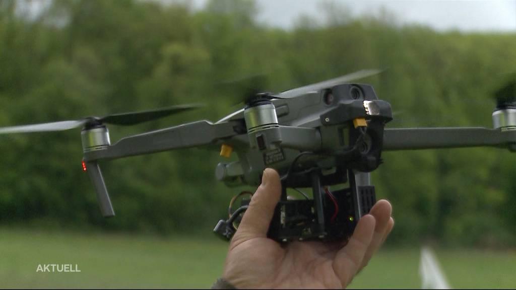 Rehkitz-Rettung mit moderner Technologie