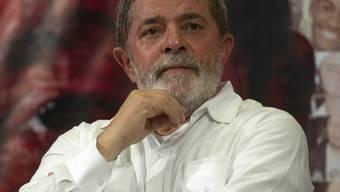 Brasiliens Ex-Präsident Lula hat mit Kehlkopfkrebs zu kämpfen (Archiv)