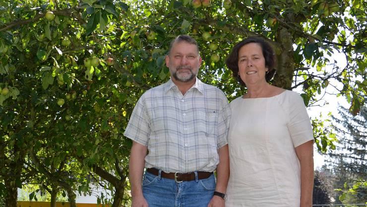 Bernhard und Mary Bider 2015 vor ihrer Abreise.