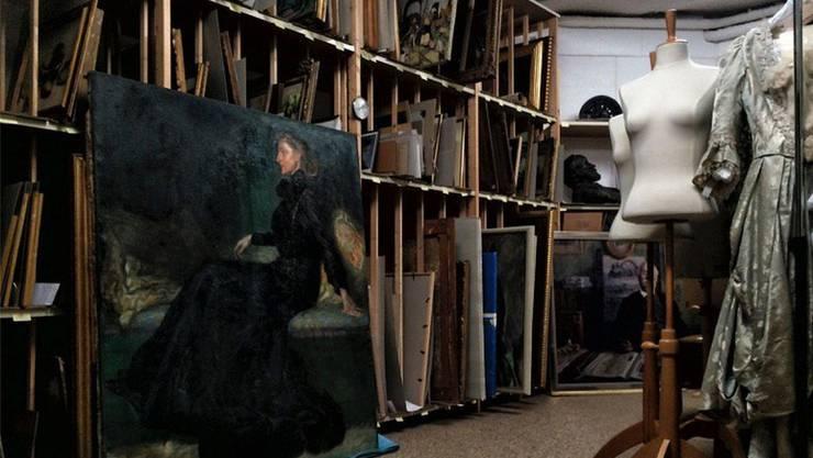 Die Ausstellung der «Kellerkinder» (noch nicht gezeigte Werke im Keller) war ein Erfolg für die Langmatt.