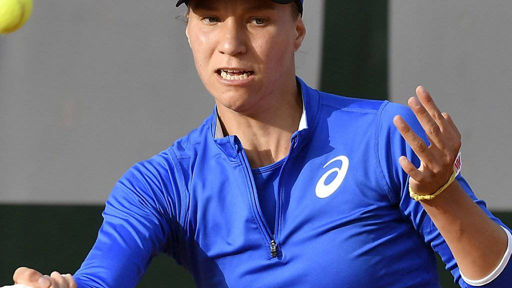 Viktorija Golubic zieht am WTA-Turnier in Nottingham in die 2. Runde ein