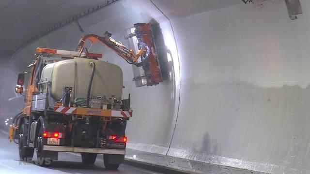 A5-Ostast: Aufwändige Tunnelreinigung schon nach 9 Monaten
