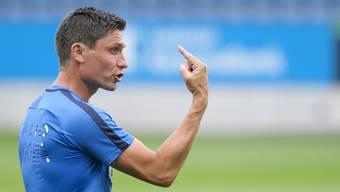 Norbert Fischer, Athletiktrainer beim FC Aarau, warnt vor zu früher Fortsetzung der Meisterschaft