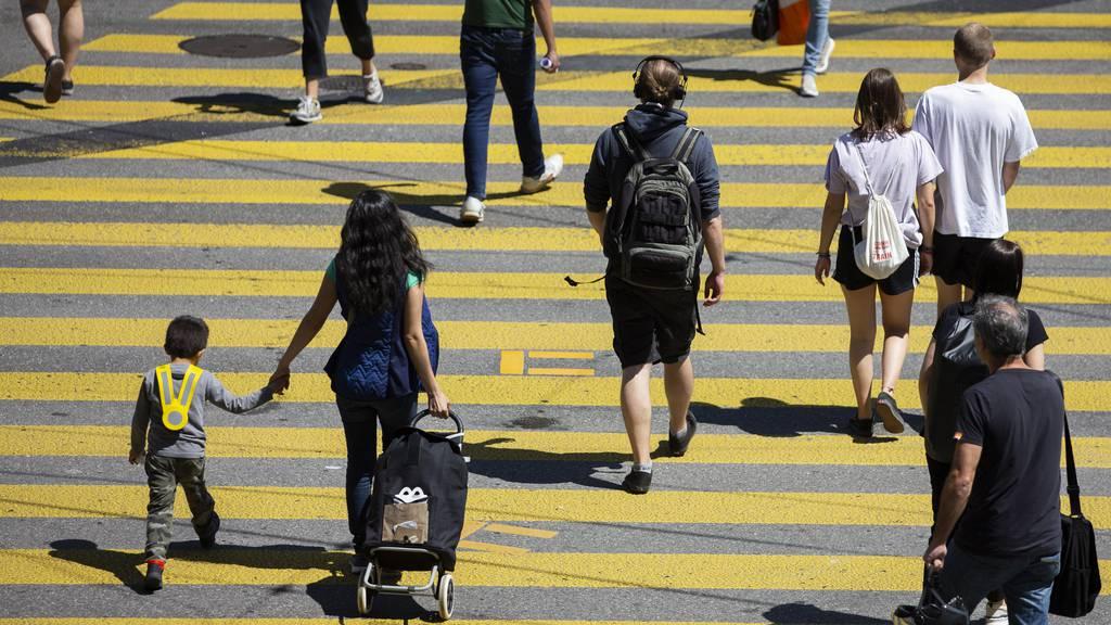 In Schweizer Städten wird zu wenig auf Fussgänger geachtet.