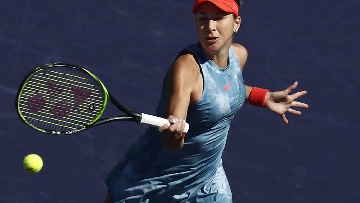 Belinda Bencic schaffte es dank ihres 12. Siegs in Folge in die Halbfinals von Indian Wells