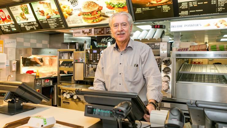 Nach 23 Jahren Sagt Mister McDonalds Arrivederci Baden