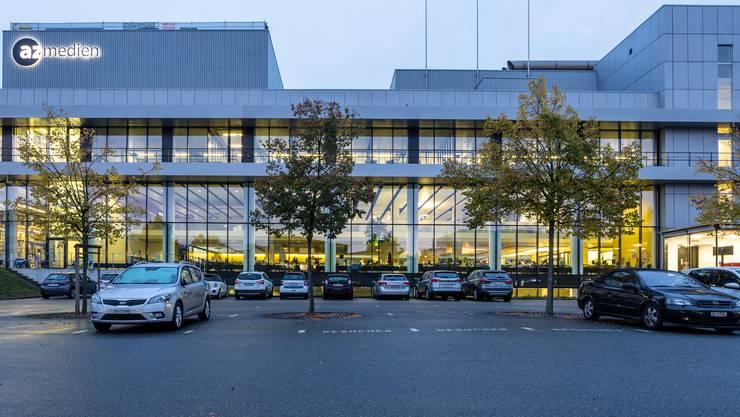 CH Media, Newsroom am Standort Aarau.