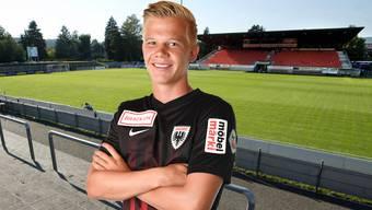 Mats Hammerich bleibt beim FC Aarau
