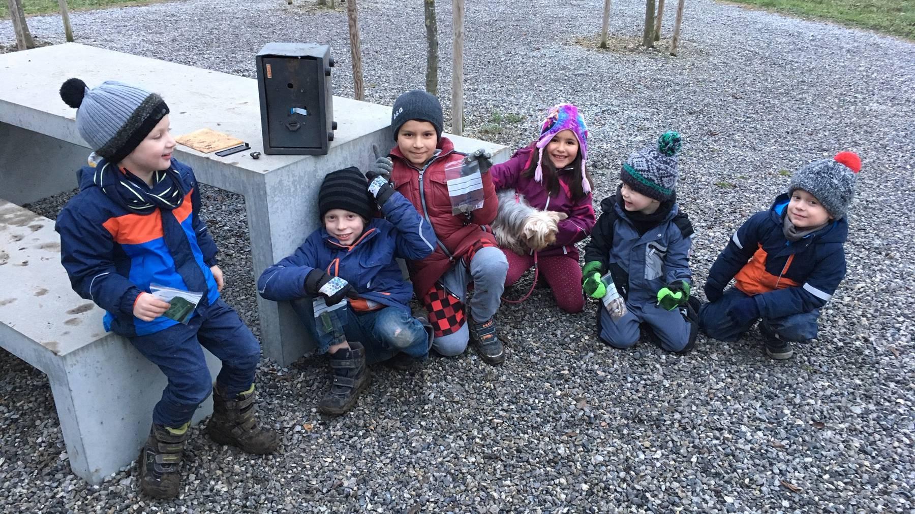 Kinder in Baar finden einen gestohlenen Tresor