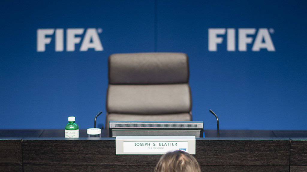 Der Präsidenten-Stuhl der FIFA wird am 26. Februar 2016 neu besetzt