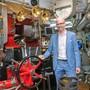 ZSG-Direktor Roman Knecht will an den Dampfschiffen trotz komplexer Reparaturen – wie am Kolbenschieber und an dessen Einzelteilen – festhalten.