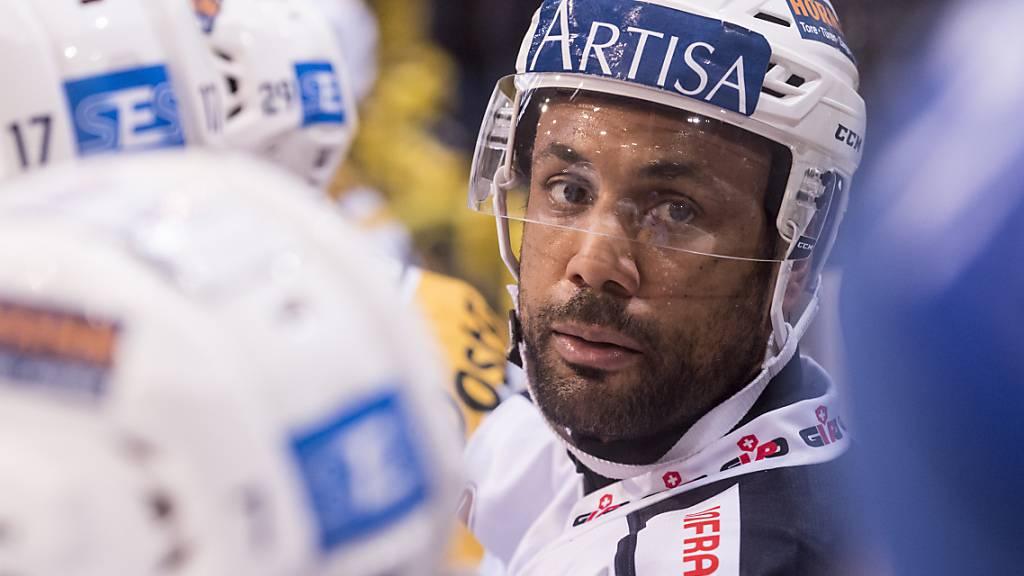 Michaël Ngoy von Ambri beendet Ende Saison die Karriere