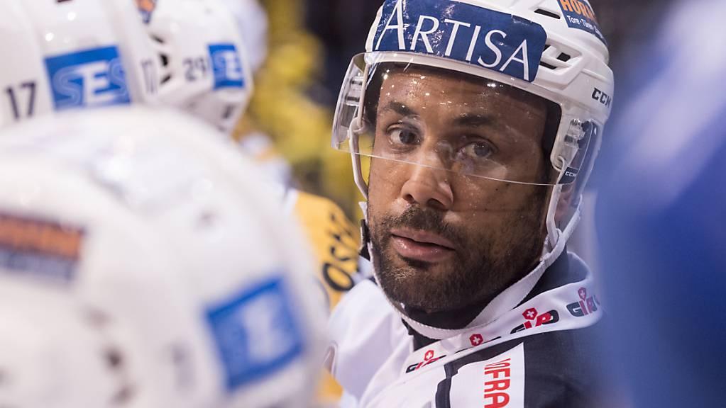 Michaël Ngoy von Ambri-Piotta beendet nach dieser Saison seine Karriere