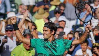 Roger Federer darf noch einmal von der Weltranglistenspitze träumen.