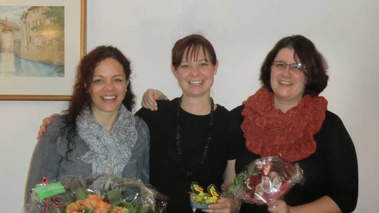 Christina Lindenmann, Seraina Ulmi und Petra Häusermann