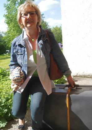 Rita Graf wollte schon immer einen solchen Koffer