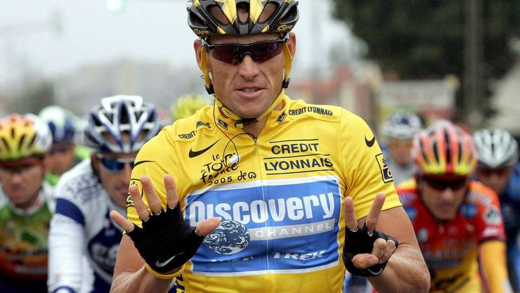Lance Armstrong fuhr auch an der Tour de Suisse in Gelb. Später wurde er des Dopings überführt und alle Titel aberkannt.