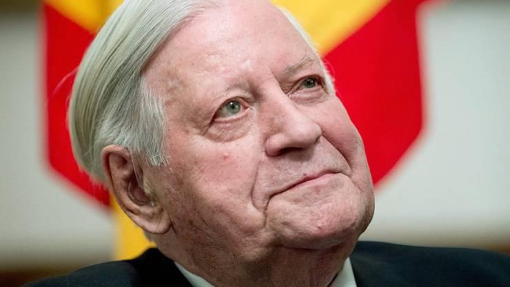 Der Altbundeskanzler war wegen seines Redetalents berüchtigt. Helmut Schmidt starb im Alter von 96 Jahren (Archiv).