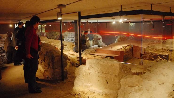 Die römische Offiziersküche konnte erhalten werden.