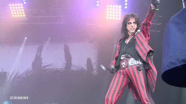 Alice Cooper begeistert am Rock the Ring
