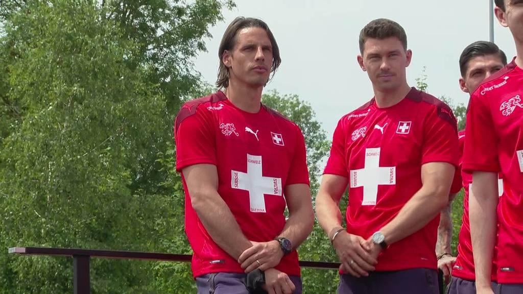 Nati-Empfang: Schweizer Spieler sind zurück