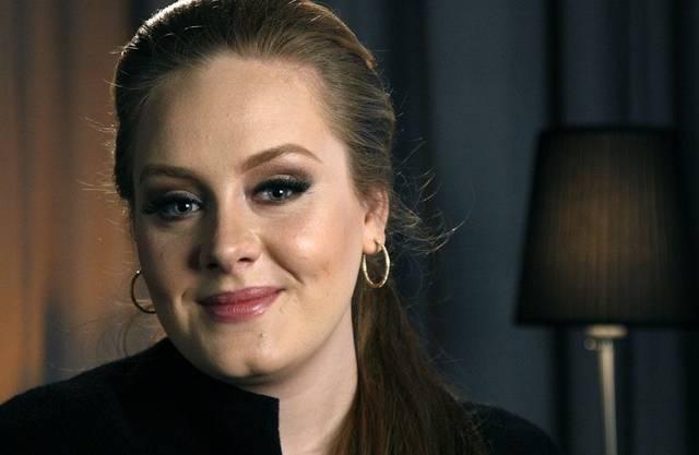 Die britische Sängerin Adele