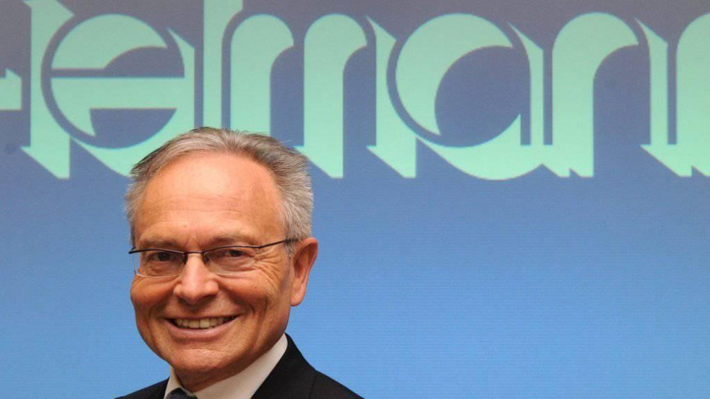 Sohn Marc muss sich erst bewähren: Fielmann-Firmenpatron Günther Fielmann behält die Zügel noch eine Weile in der Hand. (Archiv)