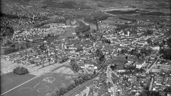 Historische Luftaufnahmen des Kantons Aargau