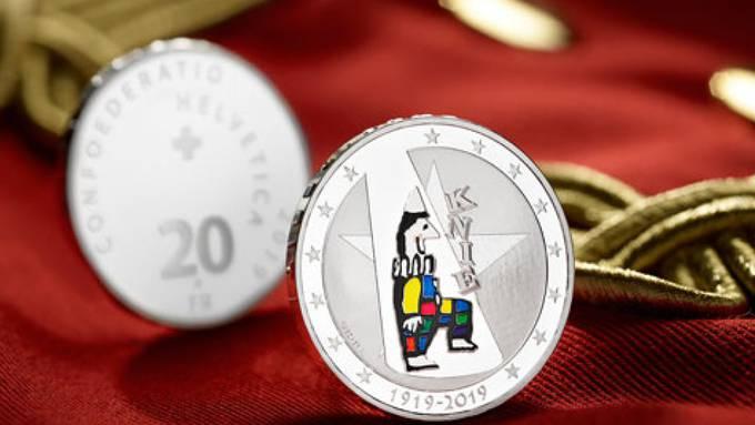 Der National-Circus Knie erhält zu seinem 100-Jahre-Jubiläum eine Sondermünze von Swissmint.
