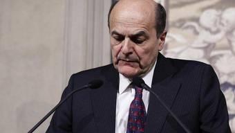 Bersani hat es nicht geschafft, eine breite Regierungsmehrheit zusammenzubringen