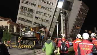 Erdbeben erschüttert Taiwan