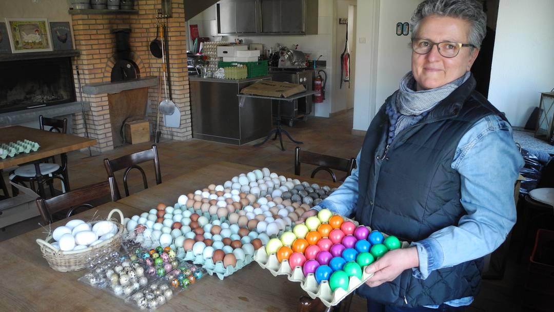 Tipps, die Hanna Fiechter zu Eiern geben kann.
