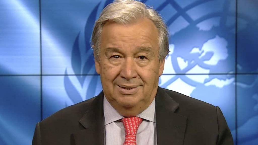 UN-Chef: 35 Milliarden Dollar für Corona-Koordinierungsstelle nötig