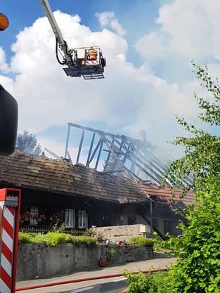 Der Brand konnte unter Kontrolle gebracht werden.