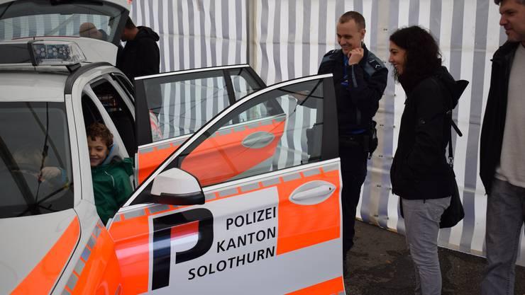 Die Solothurner Kantonspolizei gibt zusammen mit der Baselbieter Polizei und dem Grenzwachtkorps Einblick in ihre Arbeit.
