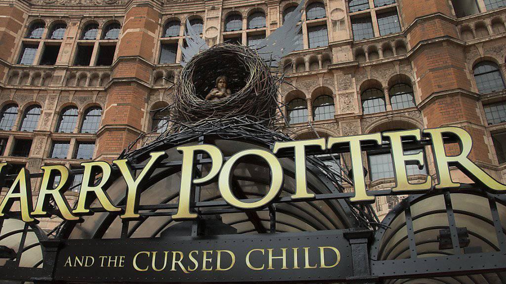 """Das Palace Theater in London: Hier hat das Theaterstück """"Harry Potter und das verwunschene Kind"""" am Samstagnachmittag Weltpremiere gefeiert."""