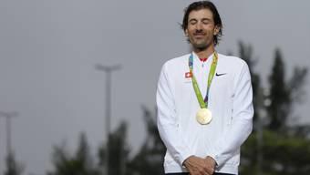 Der emotionalste Sport-Moment 2016: Fabian Cancellara gewinnt in Rio zum Abschluss seiner grossartigen Karriere noch einmal Olympia-Gold.