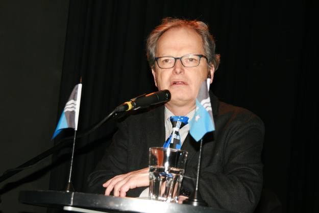 Beachtenswert die Krawatte von AZ-Kolumnist Jörg Meier
