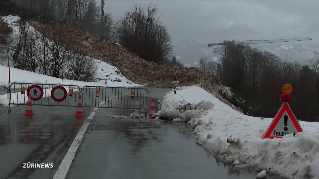 Wetterkapriolen: Hochwasser im Flachland, Lawinen in den Bergen
