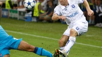 Stéphane Grichting erreichte mit Auxerre ein 1:1 bei Montpellier