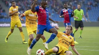 Basel kommt gegen Xamax nicht über ein 1:1 hinaus.