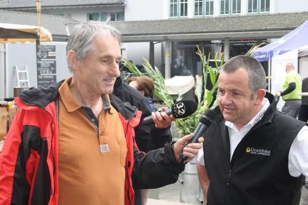Rolf Beeler stellt den Produzenten spannende Fragen