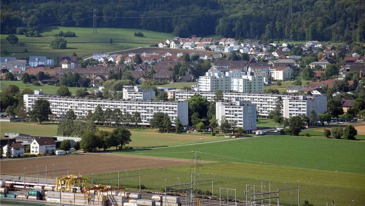 In der Gemeinde Birr hat es am meisten leere Wohneinheiten. Auch die Wyde-Siedlung hat noch einige Wohnungen frei.