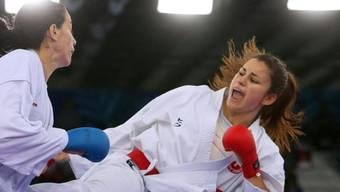 Elena Quirici (rechts) schont ihre Gegnerinnen nicht.