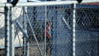 Im Auffanglager für Flüchtlinge in Fylakio sass der Baselbieter Kurde ungewollt fast ein Monat fest. Keystone