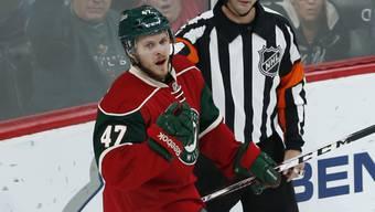 Christoph Bertschy startet die Saison in der NHL
