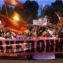 In Skopje sind am Mittwoch erneut Tausende wegen eines Namensstreits mit Griechenland auf die Strasse gegangen.